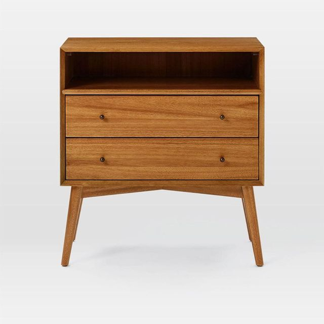 West Elm Mid-Century Bedside Table - Grand