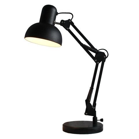 Kmart Drafting Lamp with Black Marble Base
