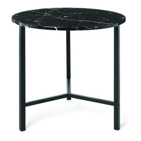 Kmart Marble Look Side Table - Black
