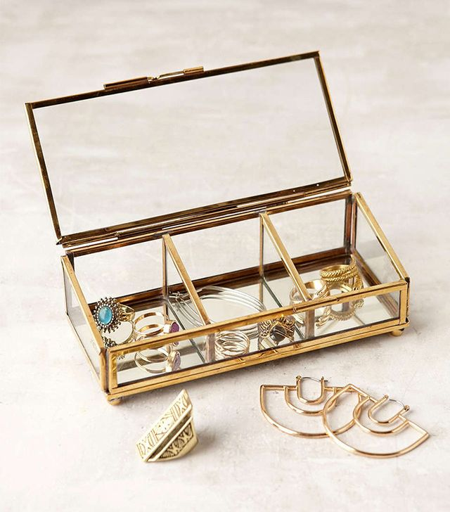 Urban Outfitters Keepsake Glass Display Box