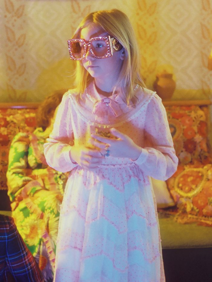 2cbcff49e12 Why This Gucci It Girl Only Appears Behind the Camera in Its New Film