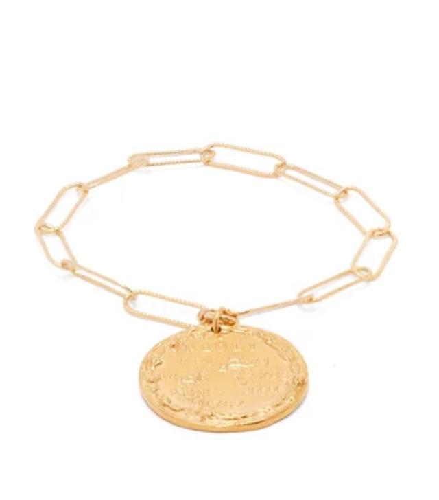 Best mid-priced brands: Allighieri coin necklace