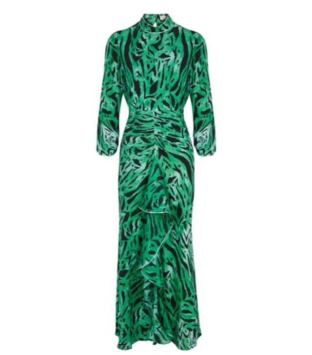 best affordable designer brands: Rixo animal-print dress