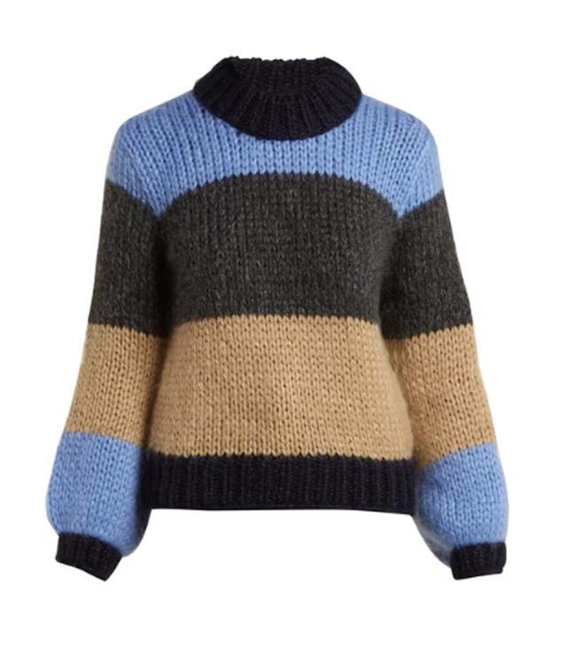 Best mid-priced brands: Ganni stripe jumper