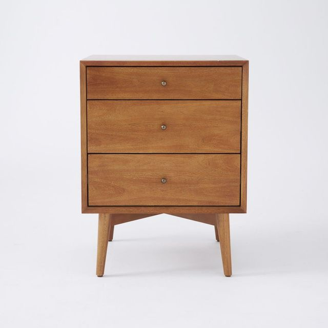 West Elm Mid Century Side Tables - Acorn