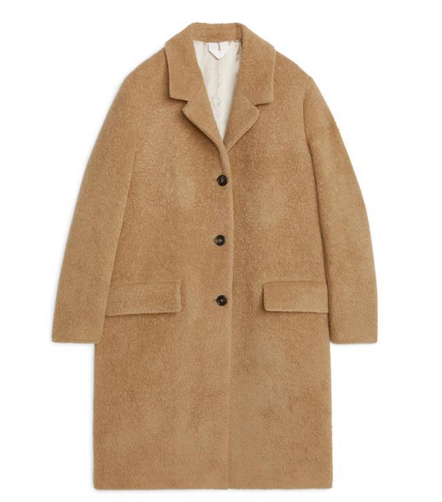 Arket Alpaca Coat