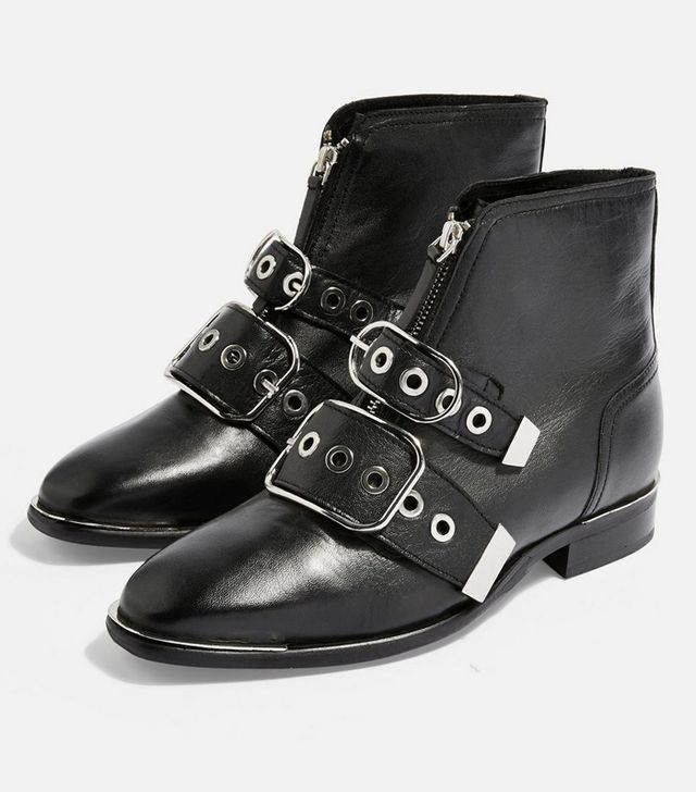 Topshop Low Ankle Boots