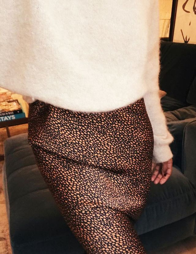 London fashion trends: slip skirt