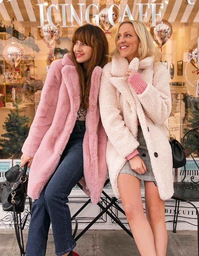 London fashion trends: pink coat