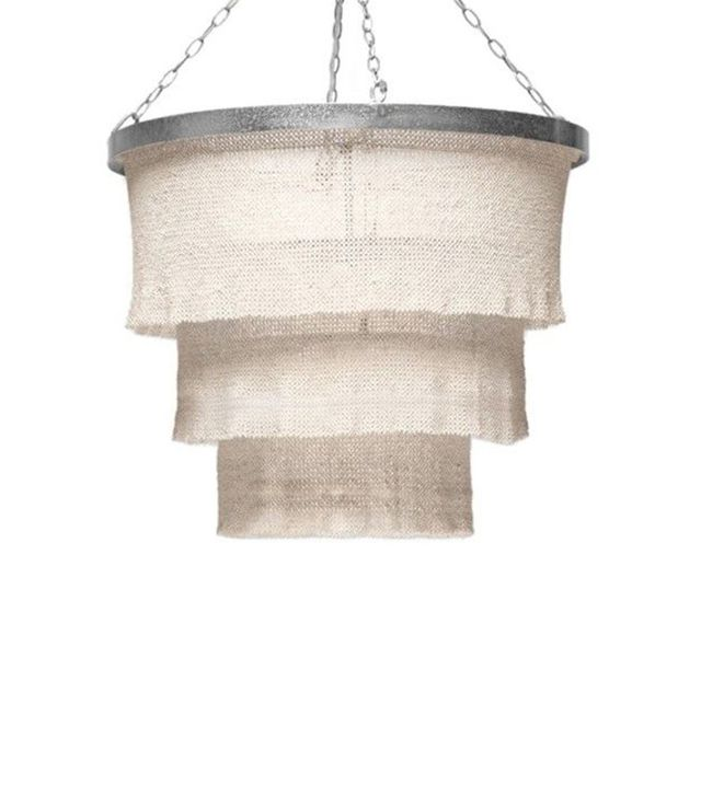 Made Goods Patricia Chandelier-Coco Beads/Silver