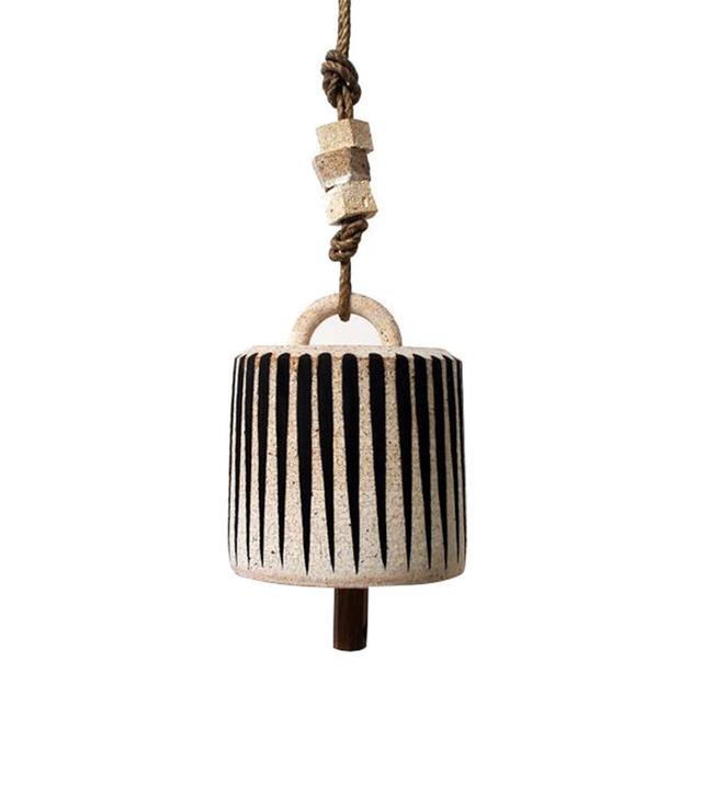 MQuan Studio Small Wide Black Striped Bell