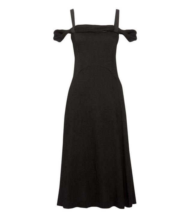 Jeanne Damas Style: Rejina Pyo Lara Pintucked Crepe Midi Dress