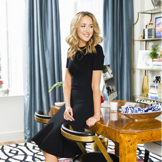 Inside a Fashion Blogger's Eclectic Home Office