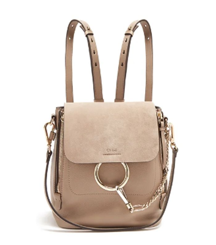 Pinterest · Shop · Chloé Faye Small Leather and Suede Backpack ... 7b80d5889d07a