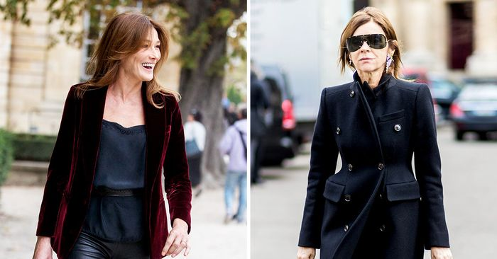 The Most Fashionable Over 40 French Women Who What Wear