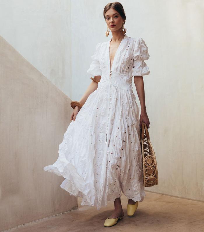 shop bohemian dresses ffor coachella  who what wear