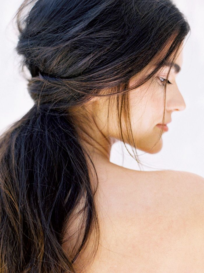Proof Low Ponytails Don\'t Have to Be Boring | Byrdie