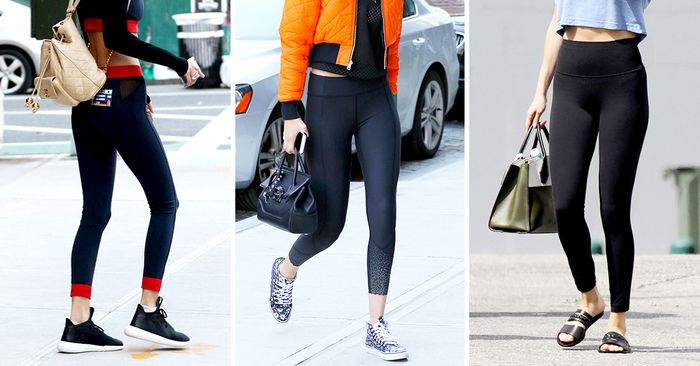 379b03b6 The 7 Shoes Not to Wear With Leggings | Who What Wear