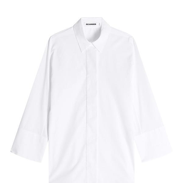 Jil Sander Cotton Button Down Shirt