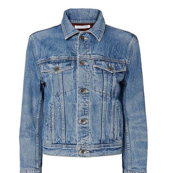 Helmut Lang Shrunken Denim Jacket