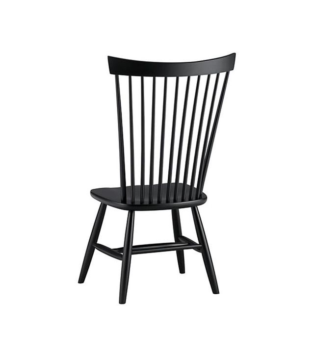 Crate and Barrel Marlow II Wood Dining Chair
