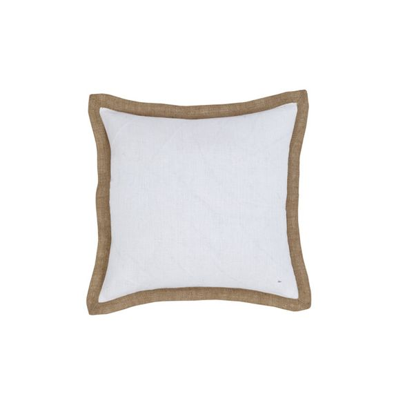 IDC White Hampton Linen Cushion