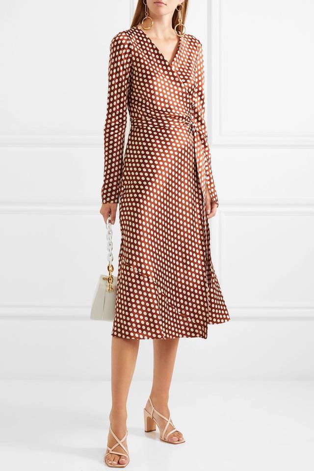Wrap-effect Floral-print Crepe Jumpsuit
