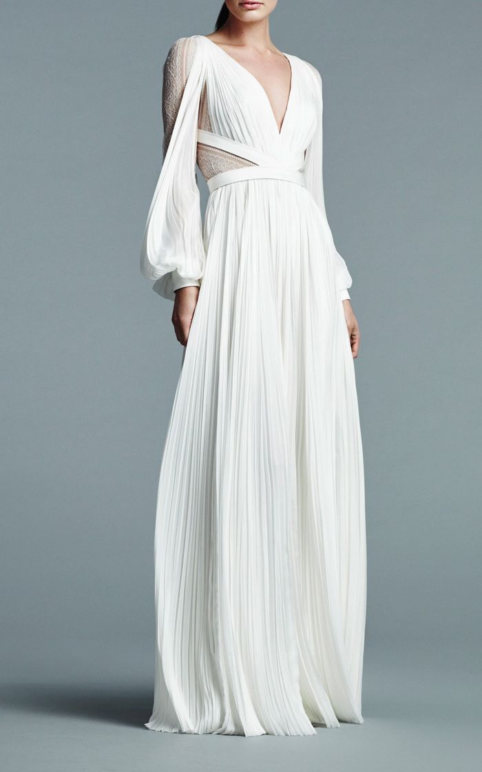 The Best Bohemian Wedding Dresses for Boho Brides   Who What Wear