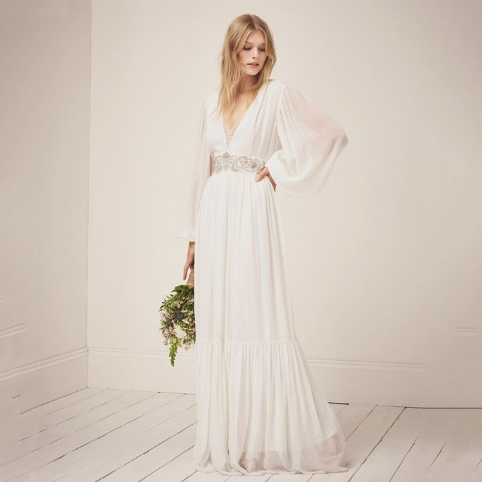 The Best Boho Wedding Dresses For Bohemian Brides Who What