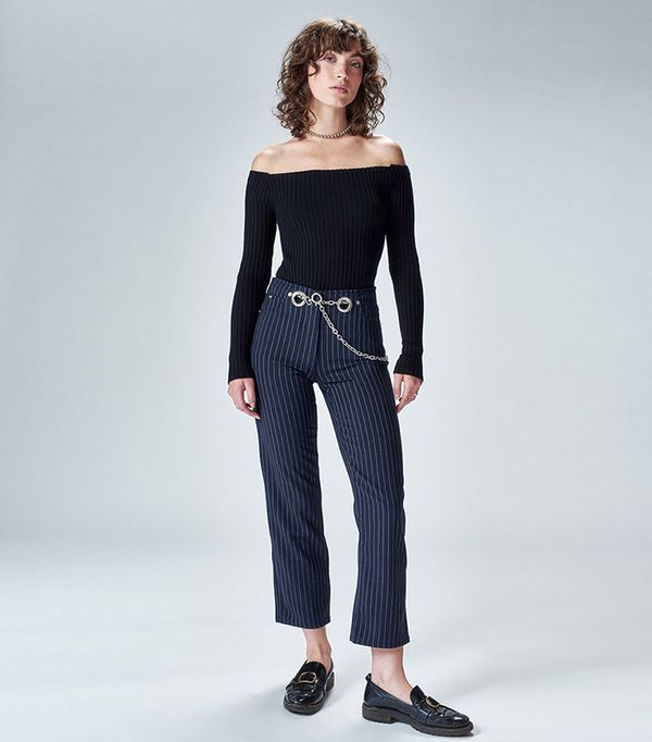 French brands - Miaou Tommy Jean in Pinstripe
