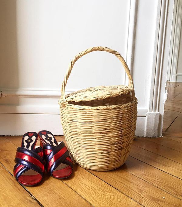 French fashion brands - Bonjour Coco Basket