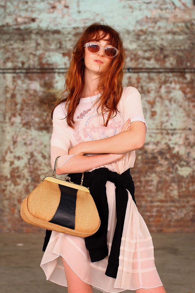 "<p>We spotted Ella Jane from a mile away, thanks to her distinctive fiery hair and porcelain skin and up close, her style is just as creative as her role with <a href=""https://tomboybeauty.com/""..."
