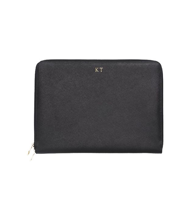 The Daily Edited Black 13-Inch Laptop Case