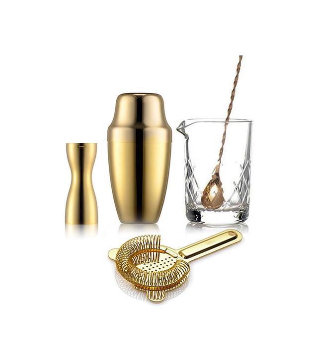 Barware Copper Cocktail Kit, Bar Set
