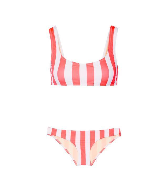 Solid and Striped Elle Striped Bikini