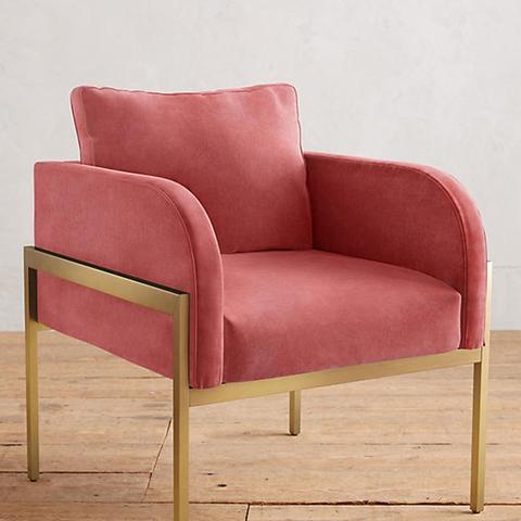 Velvet Ardmore Chair