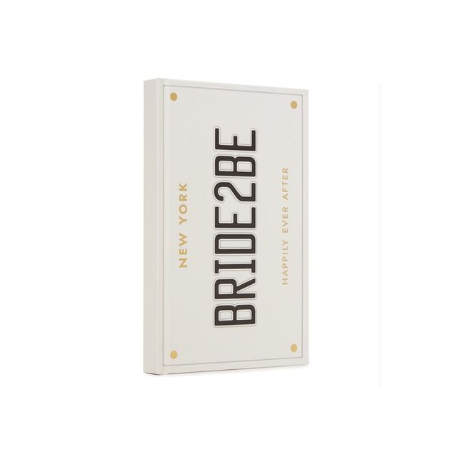 Kate Spade New York Bride 2 Be Bridal Notebook