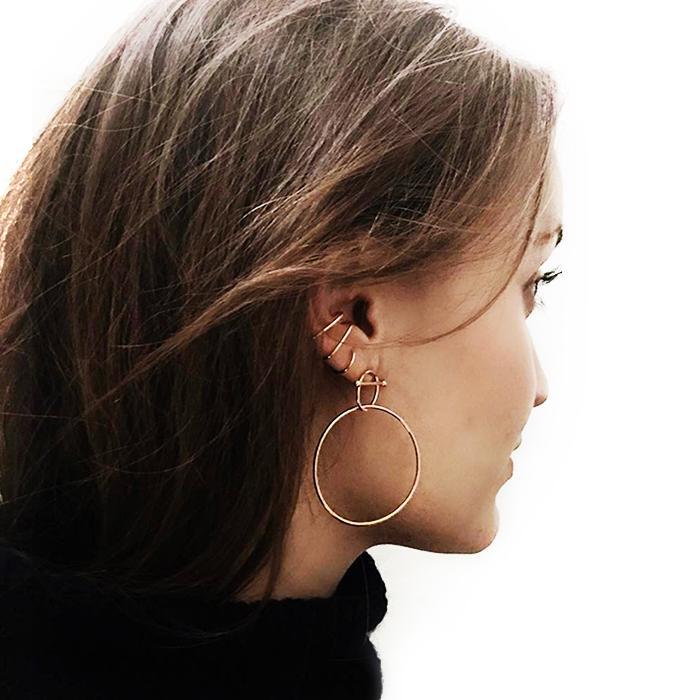 18 Earrings That Let You Fake Multiple Piercings  1c1023cc913
