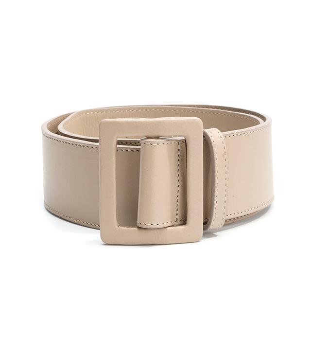 capsule wardrobe - Egrey Leather Belt