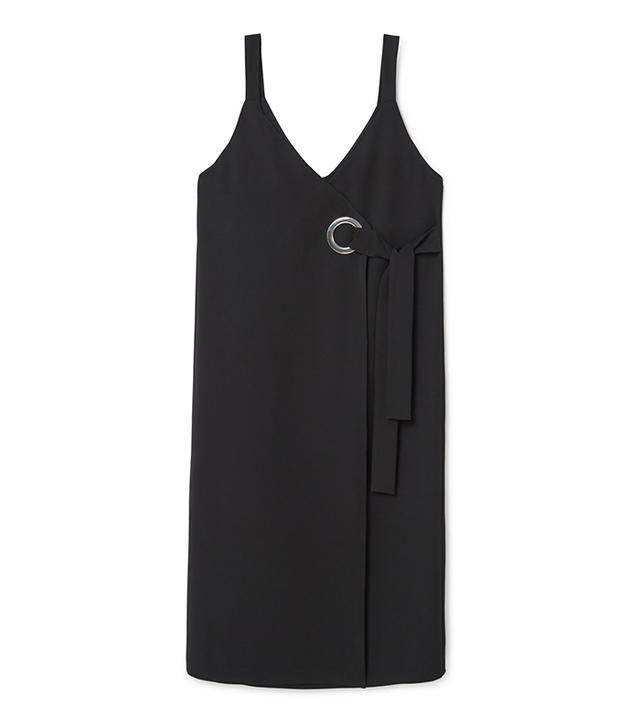 capsule wardrobe - Mango Decorative Buckle Dress