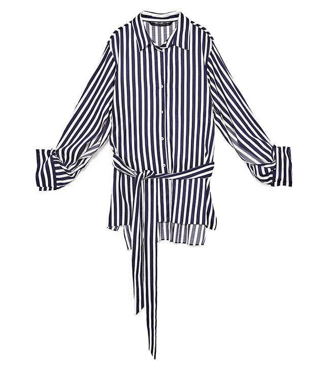 capsule wardrobe - Zara Striped Tunic