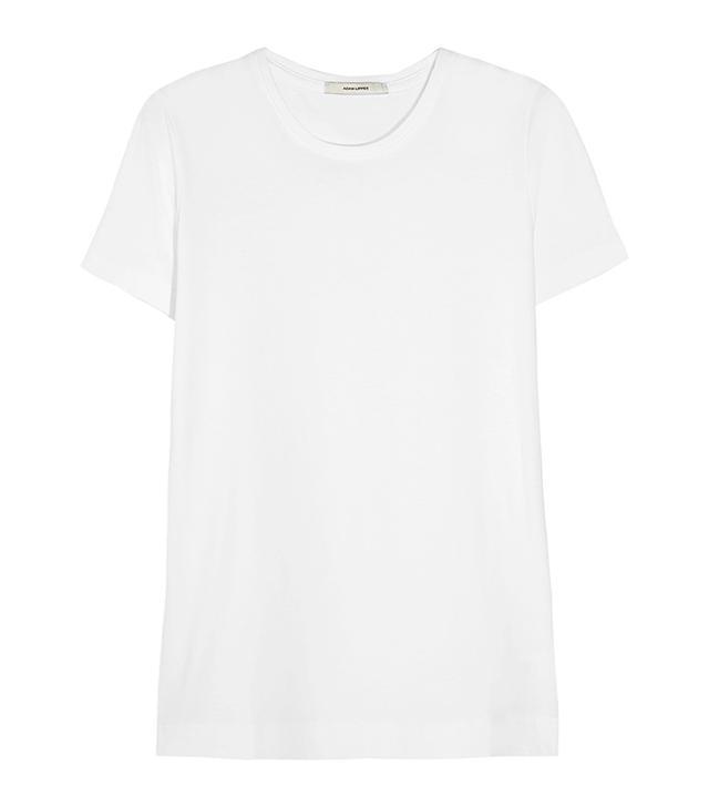 capsule wardrobe - Adam Lippes Pima Cotton T-Shirt