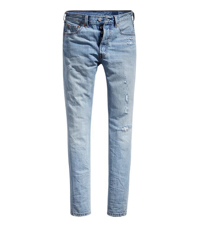 capsule wardrobe - Levi's 501 Skinny Jeans