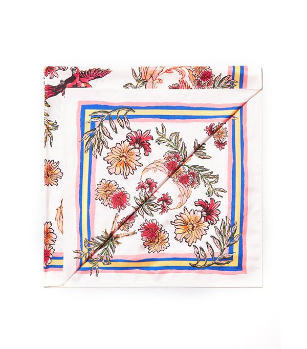 what to pack for a European vacation - silk scarf