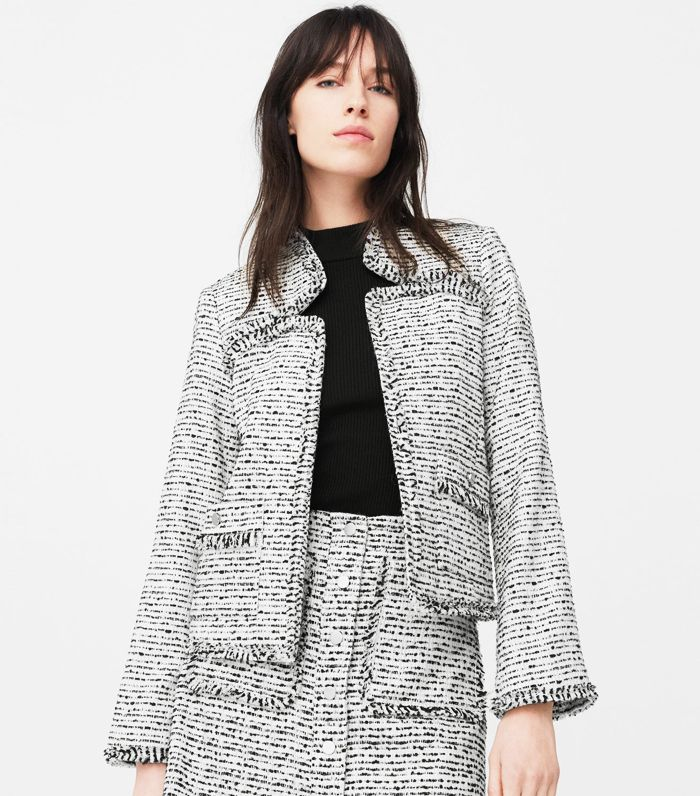 Zara Tweed Jackets Who What Wear Uk
