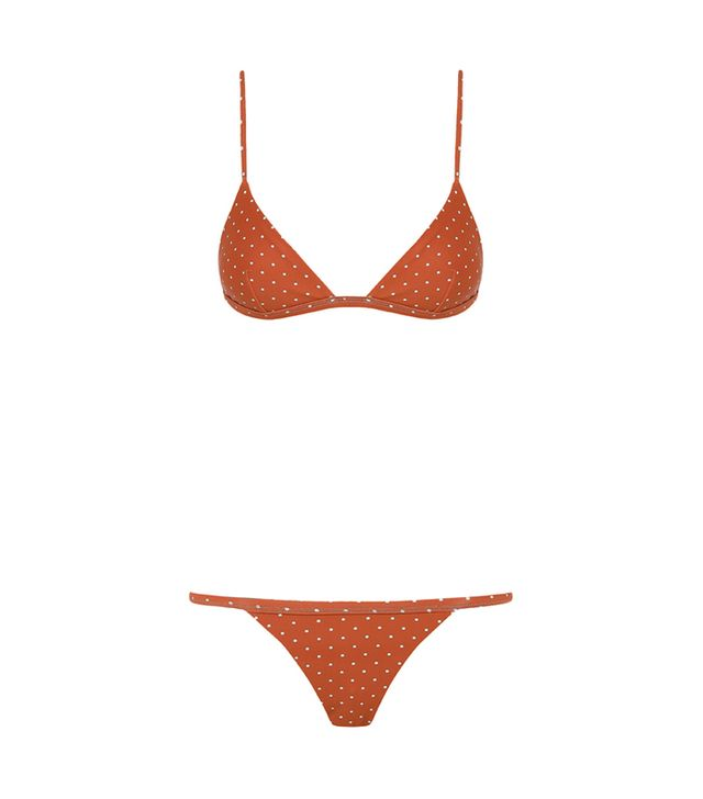 French Girl Summer Swimsuit Trends: Matteau Petite Bikini