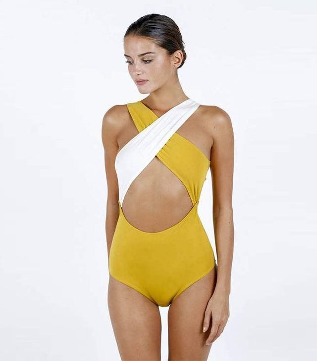 French Girl Summer Swimsuit Trends: Luz Collections Chloe Swimsuit