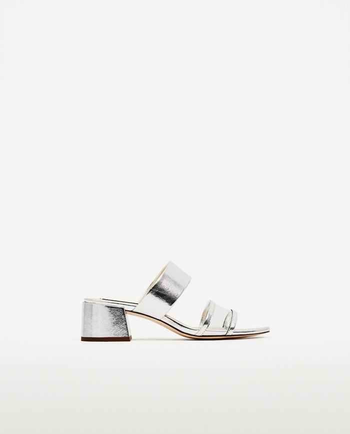 Zara Clear Vinyl Sandals Shopping Who What Wear