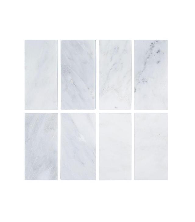 Jeffrey Court Carrara Honed Marble Wall Tile