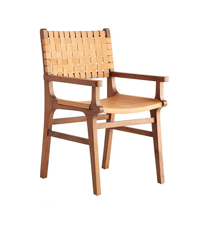 Wisteria Leather Arm Chair